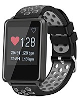 cheap -Smart Bracelet Touch Screen Heart Rate Monitor Water Resistant / Water Proof Calories Burned Pedometers Distance Tracking Anti-lost