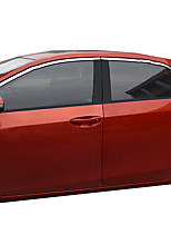 cheap -Silver Car Stickers Business Window Trim Not Specified Window Trim