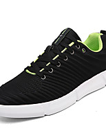 cheap -Men's Shoes PU Spring / Summer Comfort Sneakers Black / Red / Blue