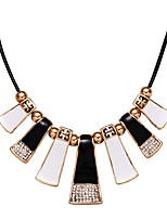 cheap -Women's Lovely Pendant Necklace  -  Fashion Geometric Rainbow 45cm Necklace For Wedding Evening Party