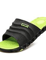 cheap -Men's Shoes PU Summer Comfort Slippers & Flip-Flops for Casual Black / Red Black / Green Black / Blue