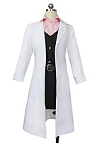 cheap -Inspired by Dangan Ronpa Cosplay Anime Cosplay Costumes Cosplay Suits Other Long Sleeves Coat Shirt Top Skirt More Accessories For Unisex