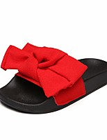 cheap -Girls' Shoes Fabric Summer Comfort Slippers & Flip-Flops for Casual Red / Green / Pink