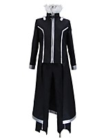 cheap -Inspired by Sword Art Online SAO Kirito Swordman Cosplay Anime Cosplay Costumes Cosplay Suits Other Long Sleeves Coat Pants Gloves More
