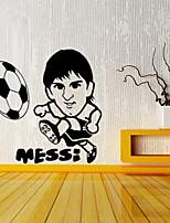 abordables -Calcomanías Decorativas de Pared - Palabras y comillas Pegatinas de pared Pegatinas de pared de personas Famoso Fútbol Americano Sala de