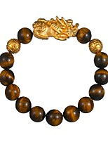 cheap -Men's 1pc Strand Bracelet - Formal Vintage Circle Coffee Bracelet For Birthday Daily