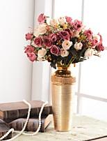 abordables -Fleurs artificielles 1 Une succursale Européen / Traditionnel / Classique Vase Fleur de Table