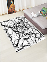 cheap -Creative Modern Doormats Area Rugs Bath Mats Flannelette, Superior Quality Rectangle Graphic Rug