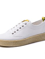 cheap -Men's Shoes Fabric Summer Comfort Sneakers White / Black