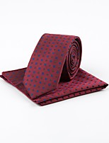 cheap -Men's Vintage Work Necktie - Jacquard