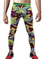 abordables -Homme Collants de Course Séchage rapide, Design Anatomique, Extensible Collants / Pantalon / Surpantalon Exercice & Fitness / Activités