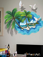 cheap -Decorative Wall Stickers - Plane Wall Stickers Landscape 3D Living Room Bedroom Bathroom Kitchen Dining Room Study Room / Office