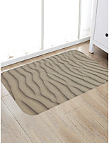 cheap -Creative Sports & Outdoors Casual Doormats Area Rugs Bath Mats Flannelette, Superior Quality Rectangle Striped Lines / Waves Rug