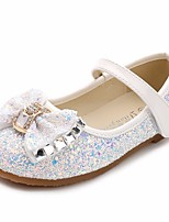 cheap -Girls' Shoes PU Spring Fall Flower Girl Shoes Comfort Flats for Casual White Blue Pink