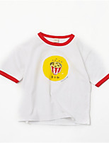 cheap -Kids Boys' Solid Colored Short Sleeves Tee