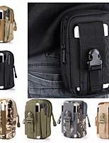 cheap -1.5L Waist Bag / Waistpack Camping Military Wearable Lightweight Oxford Cloth Black Army Green Camouflage Khaki