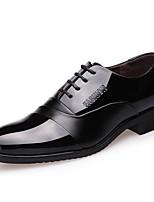 Недорогие -Муж. обувь Блестки Весна / Лето Формальная обувь Туфли на шнуровке Черный / Официальная обувь