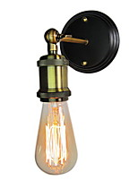 cheap -Rustic / Lodge Wall Lamps & Sconces For Living Room Bedroom Metal Wall Light 220-240V 40W