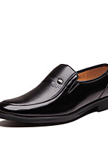 cheap -Men's Shoes Leatherette Spring Fall Formal Shoes Loafers & Slip-Ons Walking Shoes for Casual Office & Career Black Brown