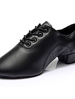 cheap -Men's Modern Leatherette Sneaker Indoor Flat Heel Black 2 - 2 3/4inch Customizable