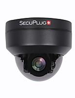 abordables -caméra de dôme ip 1080p ptz extérieure de sécurité poe ip avec zoom optique 3x panoramique / inclinaison / zoom motorisé 3x style dôme pour