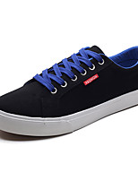 cheap -Men's Shoes Canvas Spring / Fall Light Soles Sneakers White / Black / Red / Black / Blue