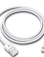 cheap -Lightning USB Cable Adapter Quick Charge High Speed Cable For iPhone 100cm TPE