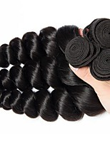 cheap -Brazilian Hair Wavy Human Hair Weaves 50g x 3 Hot Sale Extention All Christmas Gifts Christmas Wedding Party Special Occasion Halloween