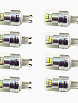 cheap -8pcs 3W 200lm G9 LED Bi-pin Lights T 24 LED Beads SMD 2835 Decorative Warm White Cold White 220-240V