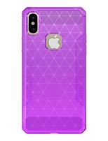 cheap -Case For Apple iPhone X iPhone 8 Frosted Armor Back Cover Solid Colored Armor Hard Carbon Fiber for iPhone X iPhone 8 Plus iPhone 8