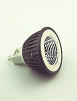 abordables -1pc 4.5W 600lm MR16 Spot LED 1 Perles LED COB Blanc Chaud 12V