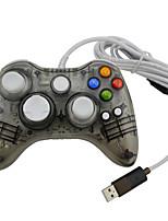 abordables -JRH-8611 Câblé Contrôleurs de jeu Pour Polycarbonate Xbox One, Bluetooth Portable Contrôleurs de jeu PC 1pcs unité 250cm USB 2.0