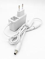 baratos -ZDM® 1pç 100-240V EU Acessório Light Strip Botão Switch Alimentação Plástico para luz de tira do diodo emissor de luz 24W