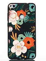 Недорогие -Кейс для Назначение Huawei P20 lite P20 С узором Кейс на заднюю панель Цветы Мягкий ТПУ для Huawei P20 lite Huawei P20 P10 Lite P10