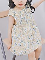 cheap -Kids Girls' Floral Sleeveless Dress