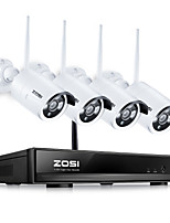 cheap -ZOSI® 8CH CCTV System Wireless 960P NVR 8PCS 1.3MP IR Outdoor P2P Wifi IP CCTV Security System Surveillance Kit