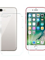 cheap -Screen Protector for Apple iPhone 8 Plus TPU Hydrogel 2 pcs Front & Back Protector High Definition (HD) / Scratch Proof / Anti-Fingerprint