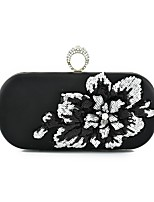 cheap -Women's Bags PU Clutch Appliques for Wedding / Event / Party Gold / Black / Silver