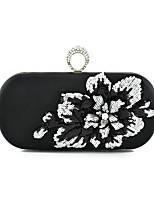 preiswerte -Damen Taschen PU Unterarmtasche Applikationen Gold / Schwarz / Silber