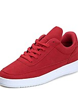 abordables -Homme Chaussures Gomme Printemps / Eté Confort Basket Bleu de minuit / Gris / Rouge