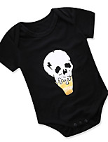 cheap -Baby Unisex Print Short Sleeve One-Pieces