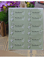 cheap -Others Stickers, Labels & Tags - 12pcs Rectangle Stickers All Seasons