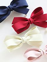 Недорогие -Зажим Аксессуары для волос Шёлковая ткань рипсового переплетения парики Аксессуары Жен. 4pcs штук 1-4 дюйм см Для вечеринок Повседневные