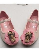 economico -Da ragazza Scarpe Di pizzo Primavera Autunno Scarpe da cerimonia per bambine Comoda Ballerine per Casual Bianco Rosa