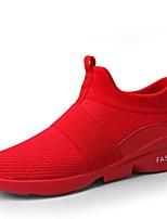 Недорогие -Муж. / Универсальные обувь Трикотаж / Сетка Лето / Осень Удобная обувь / Светодиодные подошвы Кеды Беговая обувь Черный / Серый / Красный