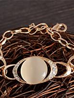 cheap -Women's Bracelet - Sweet Circle Gold Bracelet For Party Gift