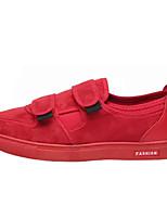 abordables -Homme Chaussures Flocage Printemps / Automne Confort Basket Noir / Rouge