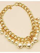 cheap -Women's Pendant Necklace  -  Elegant Fashion Joy Gold 42cm Necklace For Wedding Evening Party