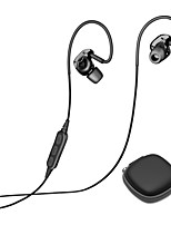 Недорогие -BX240 EARBUD Bluetooth4.1 Наушники динамический пластик Спорт и фитнес наушник С регулятором громкости С микрофоном Спорт и отдых наушники