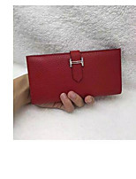 cheap -Women's Bags PU Wallet Buttons for Casual Red